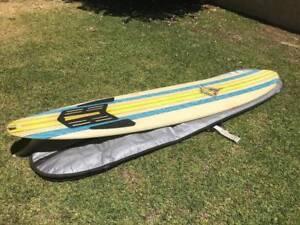 """9' X 22"""" YAHOO SURFBOARD"""