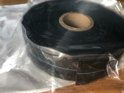 Mil Spec Electrical Self Fusing Silicone Tape Black 1 X 36 A-a-59163 Ul510