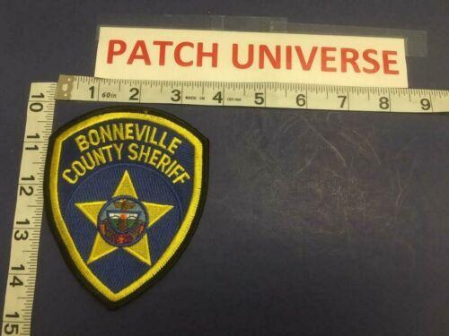 VINTAGE BONNEVILLE COUNTY ID SHERIFF  SHOULDER PATCH   C098