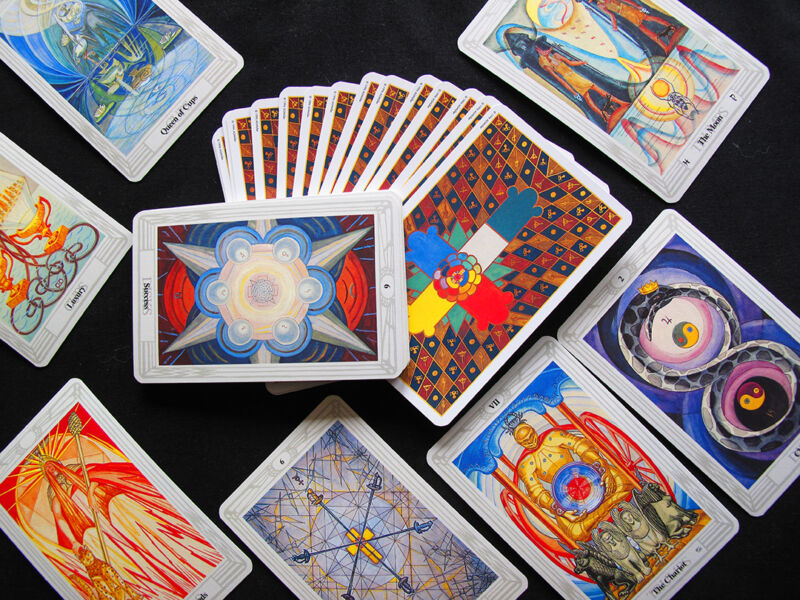 Single Replacement Card CROWLEY THOTH TAROT SMALL Exc 1996 AGMüller Choose