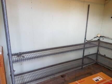 metal shelf for storage or greenhouse