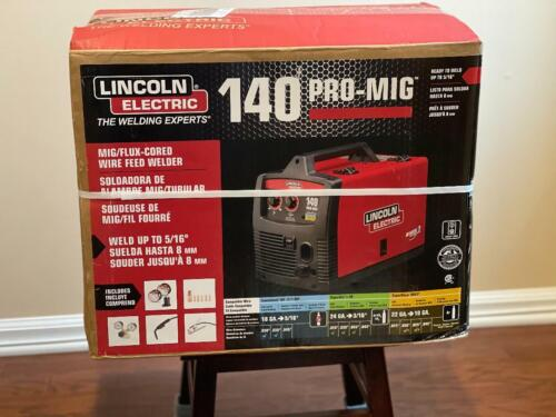 Brand New Lincoln Electric 140 Pro Mig Flux Corded Wire Feed Welder K2480-1