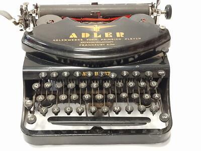 Antigua maquina de escribir ADLER 37 Schreibmaschine rare typewriter