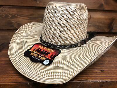 Men's Brazil Fine Cowboy Straw Hat 5