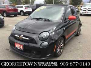2014 FIAT 500 Abarth CONVERTIBLE GQ EDITION