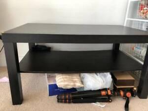 Black IKEA Coffee Table Wolli Creek Rockdale Area Preview