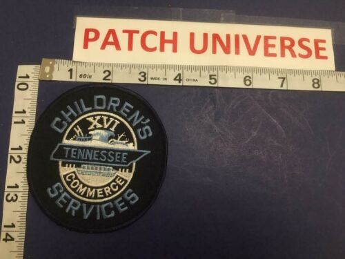 TENNESSEE CHILDERNS  SERVICE POLICE  SHOULDER PATCH     E014