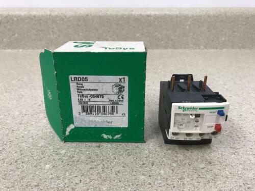 Schneider Electric LRD05 Overload Relay NEW