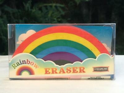 Jumbo Rainbow Eraser 4 Long - School Supplies - Brand New