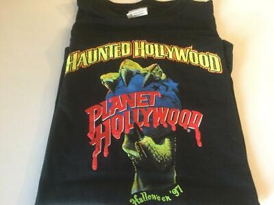 Planet Hollywood Halloween (PLANET HOLLYWOOD Haunted Halloween 1997 T-Shirt XL - New)