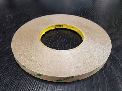 3m 9672le Adhesive Transfer Tape 0.25 In X 60 Yds W300lse 5 Mil 1 Roll