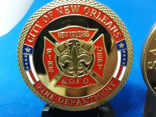 CITY OF NEW ORLEANS FIRE DEPARTMENT CHALLENGE COIN