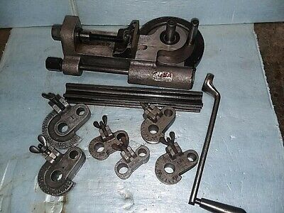 Lakeland Model 412 Tube Bender With 5 Radius Blocks And Follow Bar And Handle