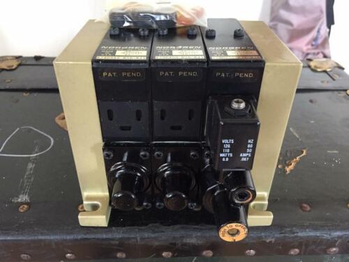 Norgren Pneumatic Air Control Valve Assembly, Cat No. K79DA50KS6KJ1