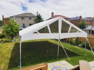Contact us for quotes on tents, linens and tables!