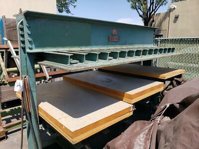 Schubert Cold Press Woodworking Machinery