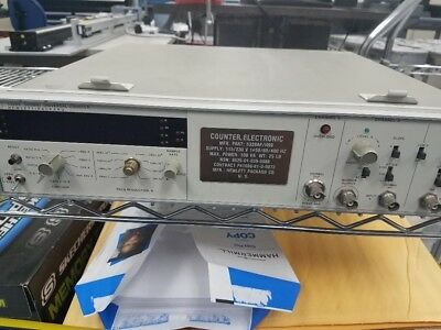 Hewlett Packard Universal Counter Model 5328a