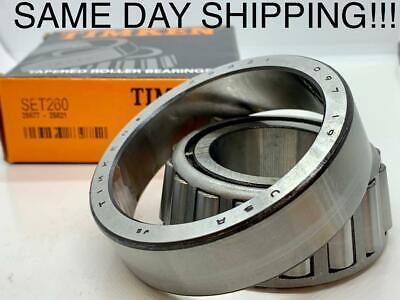 Timken 25877 25821 Tapered Bearing Race 2587725821 Set 260 Same Day Shipping