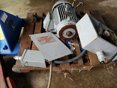 Ge Phase Converter 1 To 3 Phase 20hp With All Controls
