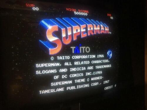 1988 TAITO SUPERMAN CPU TESTED AND WORKING