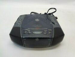 General Electric 7-4897A Dual Alarm Stereo CD Clock Radio *See Notes*