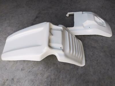 1985-1988 Yamaha BW200 Front & Rear Fenders, White, NEW - USA