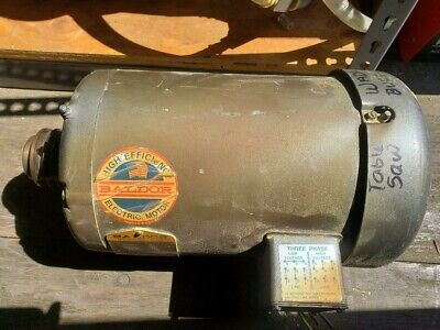 Baldor Motor 5hp Woodworking Machinery