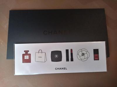 Chanel Perfume sticker set vip gift holiday gift bottle flower bag nail lipstick