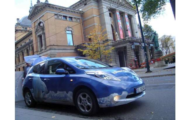 Nissan Leaf, Nationaltheater Oslo