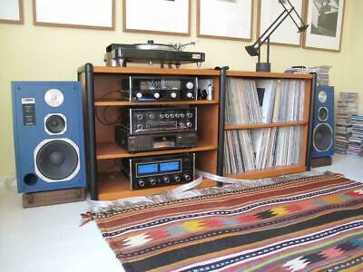 Custom Made Walnut Speaker Stands for JBL 4313 and 4313B and D Series Speakers Custom Made Walnut