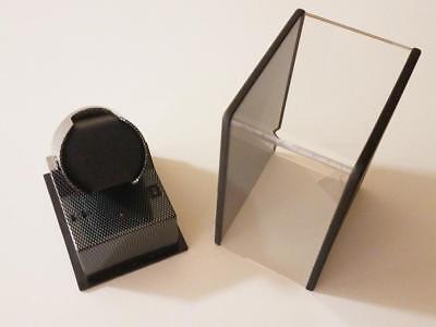 Boxy Single Automatic Watch Winder Modern Case Time BLACK