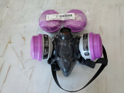 North Safety 7700 Series Large Silicone Half Mask Respirator 770030l