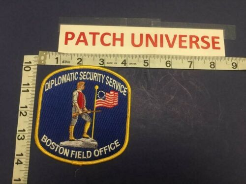 DIPLOMATIC SECURITY SERVICE  BOSTON FIELD OFFICE   SHOULDER PATCH     D042