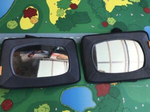 Two Baby Car Mirrors