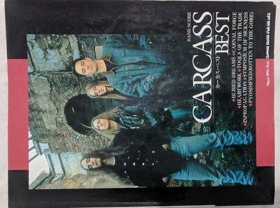 (Carcass: Band Score Song Book - guitars, bass, drums, vocals tab + music notatio)
