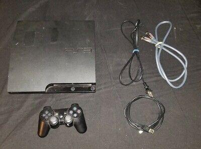 Sony PlayStation 3 Slim (Latest Model)- Launch Edition 120 GB Black