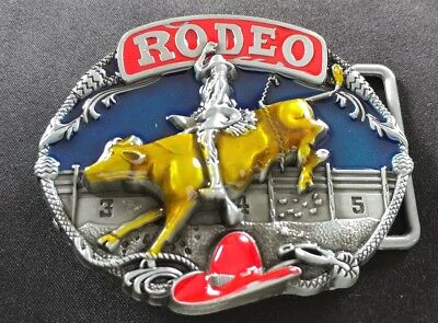 RODEO BULL RIDER WESTERN COWBOY HAT ROPE BULLRIDER SPURS BELT BUCKLE