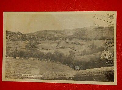 VINTAGE POSTCARD -  VALE OF MEIFOD - Early 1900's.
