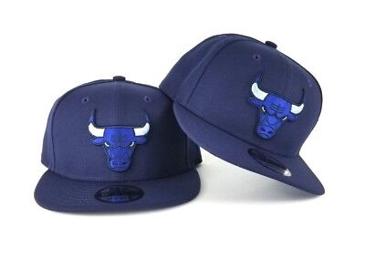 NBA Navy Blue New Era Chicago Bulls 9Fifty Snapback -