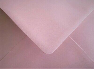 Pink Envelopes C6 Pearlescent 100gsm Gummed Flap Pack of 25 by Cranberry