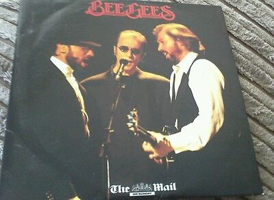 Bee gees promo music cd from the mail on sunday