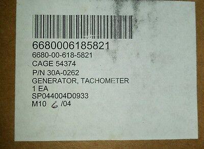 Motor Magnetics 30a-0262 Tachometer Generator Nsn 6680-00-618-5821
