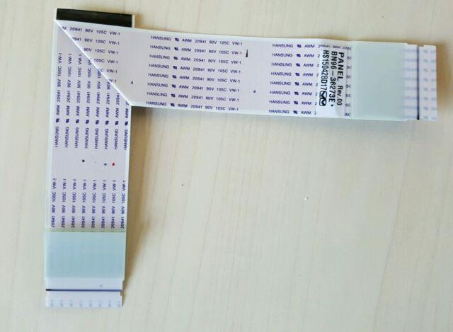 "LVDS CABLE FOR SAMSUNG 40"" LED TV UE40JU6400K BN96-36273E"
