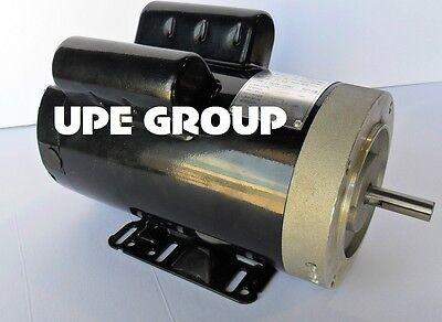 "5 HP 21 FL Amp 3450 RPM Electric Motor For Air Compressor 56 Frame 5/8"" Shaft"