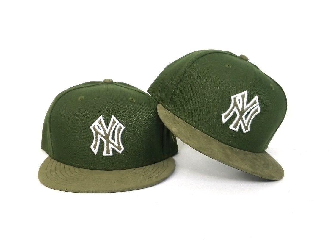 2b5ff534c03 New Era Olive Green New York Yankees snapback hat Jordan 12 Chris Paul