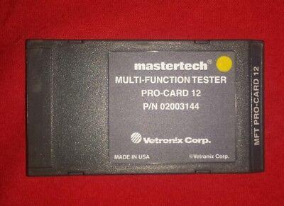 Vetronix Mastertech TOYOTA/LEXUS Program Card MTS 3100 DIAGNOSTIC Scanner 89-07