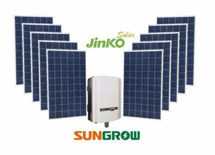 5kW Jinko Panels + 5kW Sungrow Inverter on special, FREE Upgrade!