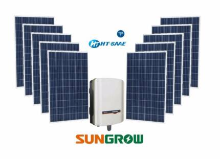 5kW Solar System Premium Tier 1 Panels & Sungrow Inverter