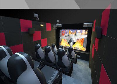 START A 9D CINEMA BUSINESS* New 2nd Gen 12-Seat 9D CINEMA- Complete Package