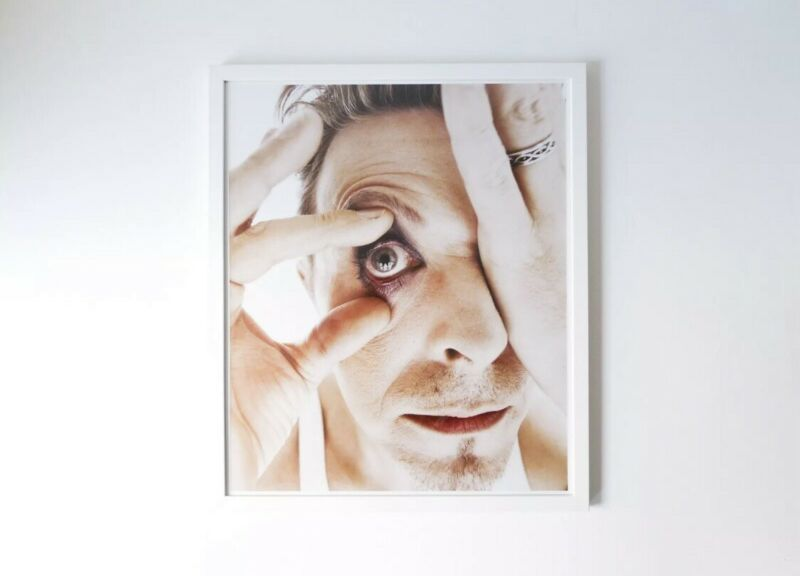 Rankin Photography Signed David Bowie Eye The Changing Faces Print